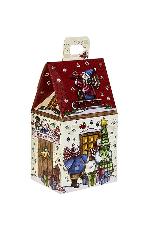 Набор подарочный Маленький домикСладости<br>Конфеты 180г, в картонной коробке<br>