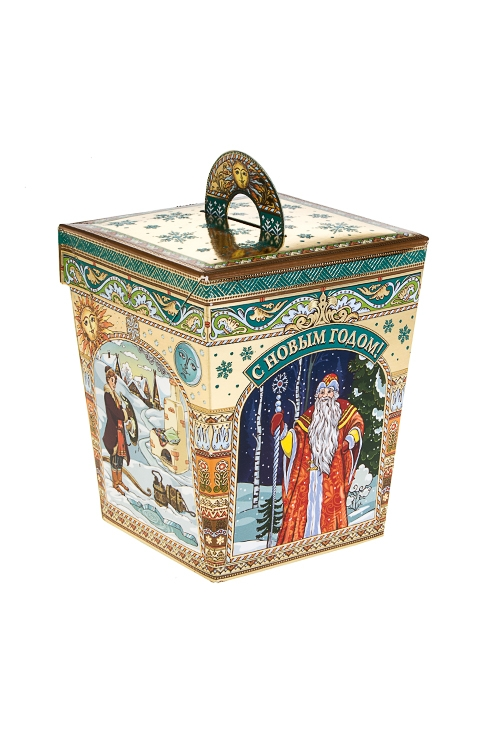 Набор подарочный Сказочный фонарикСувениры и упаковка<br>Конфеты 295г, в картонной коробке<br>