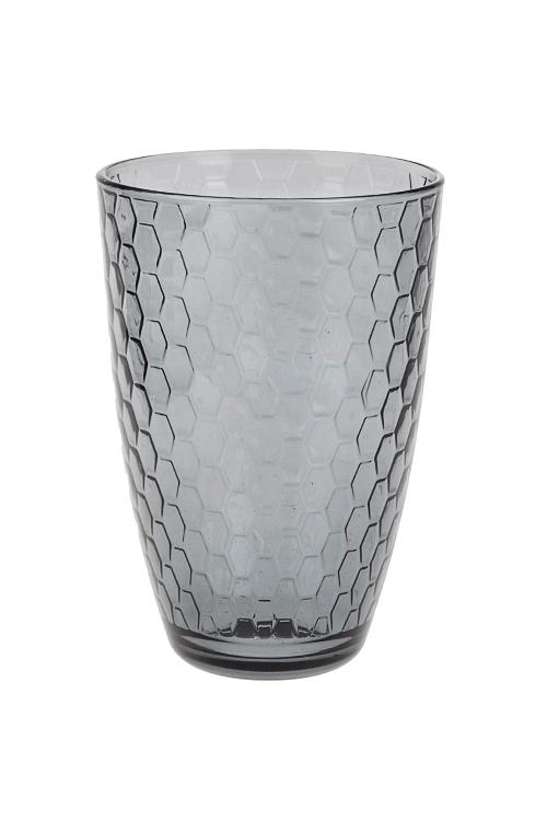 Стакан Энжой ЛофтПосуда<br>360мл, стекло, серый<br>