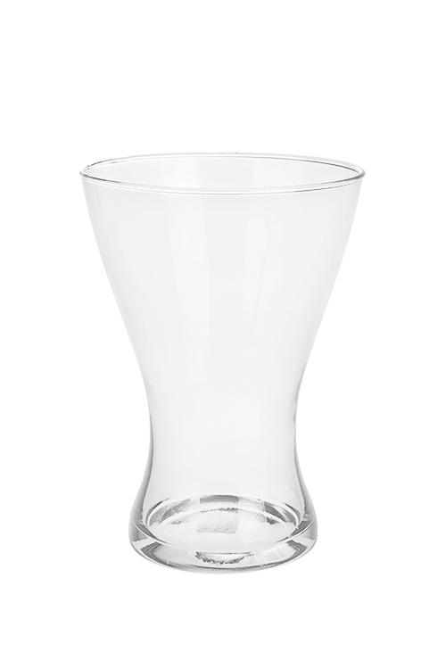 Ваза для цветов ШвецияСтеклянные вазы и кашпо<br>Выс=20см, стекло, прозр.<br>