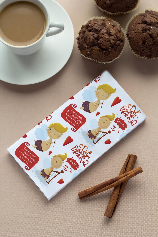 Шоколад с Вашим именем АнгелочкиСладости<br>Молочный шоколад в персональной именной упаковке будет приятным сувениром для сладкоежки! Масса - 100г.<br>