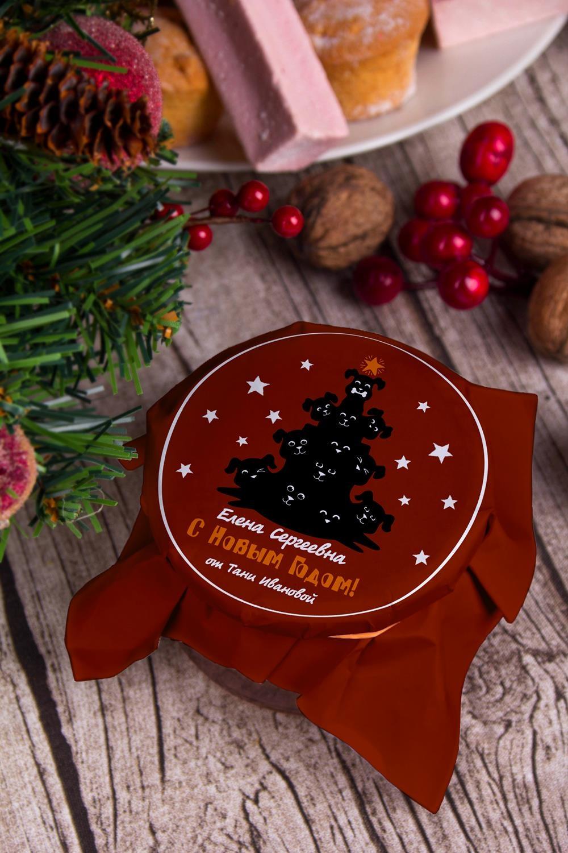 Клубничное варенье с Вашим именем ПёсикиСувениры и упаковка<br>Варенье клубничное, 200г, в персональной упаковке с Вашими пожеланиями<br>