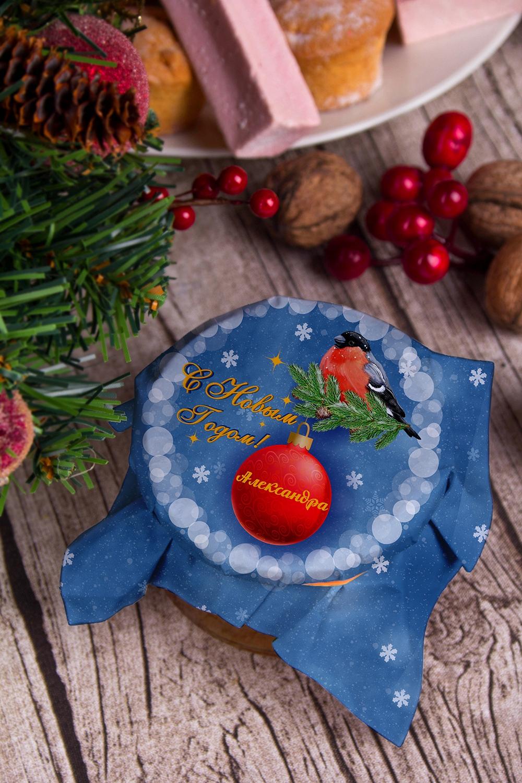 Мандариновое варенье с вашим текстом СнегириСувениры и упаковка<br>Варенье в ассортименте, 200г в персональной упаковке с Вашими пожеланиями<br>