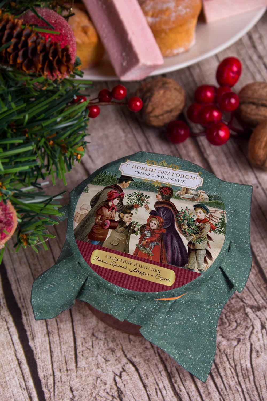 Мандариновое варенье с Вашим именем Семейный праздникСувениры и упаковка<br>Мандариновое варенье, 200г, в персональной упаковке с Вашими пожеланиями<br>