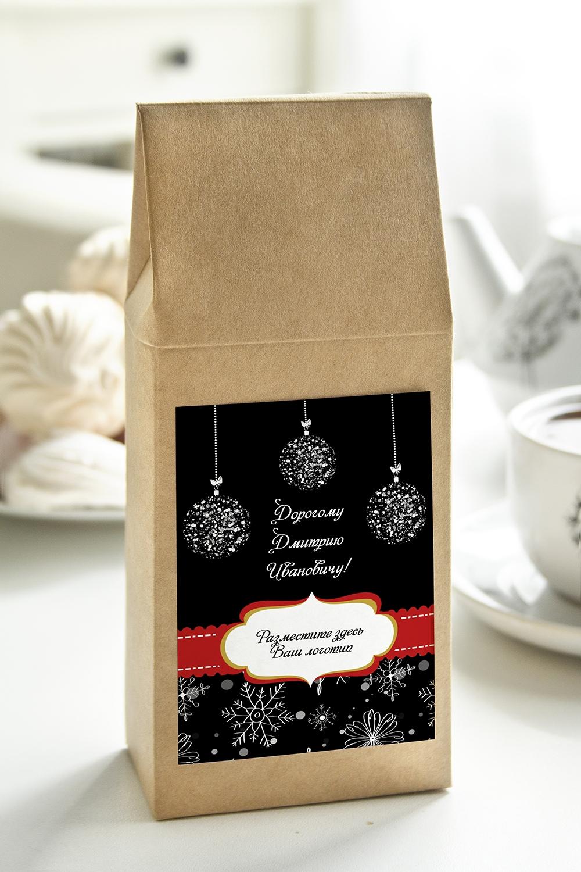 Чай с Вашим именем Новогодняя классикаСувениры и упаковка<br>Чай чёрный, 100г. В персональной именной упаковке с Вашими пожеланиями<br>