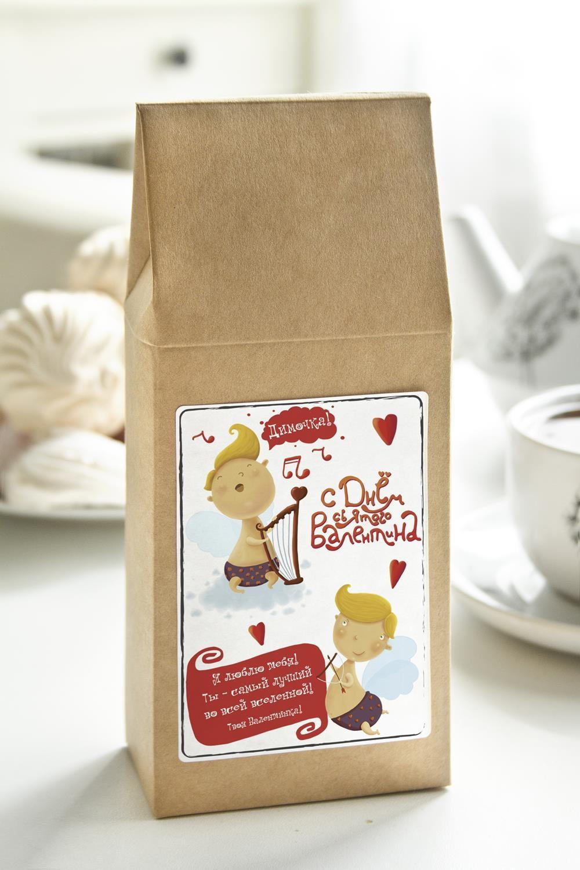 Чай с Вашим именем АнгелочкиСувениры и упаковка<br>Чай чёрный, 100г. В персональной именной упаковке с Вашими пожеланиями<br>
