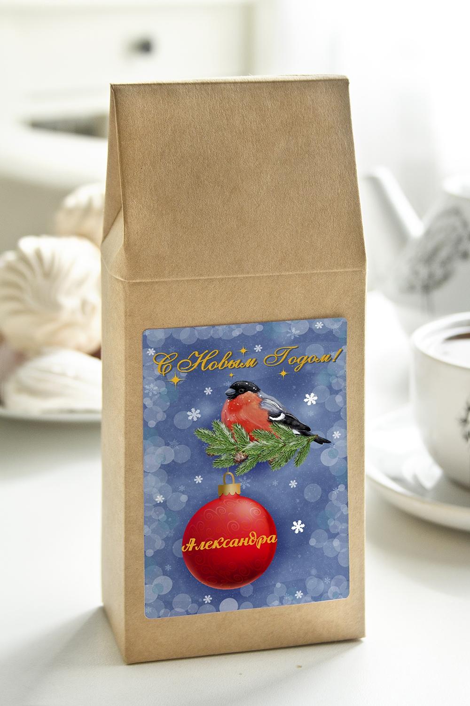 Чай с Вашим именем СнегириСувениры и упаковка<br>Чай чёрный, 100г. В персональной именной упаковке с Вашими пожеланиями<br>