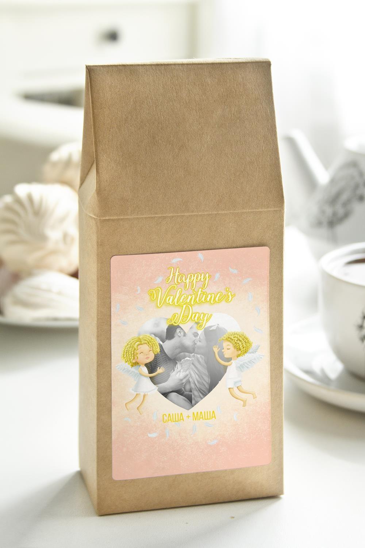 Чай с Вашим именем НежностьПодарки для мужчин<br>Чай чёрный, 100г. В персональной именной упаковке с Вашими пожеланиями<br>