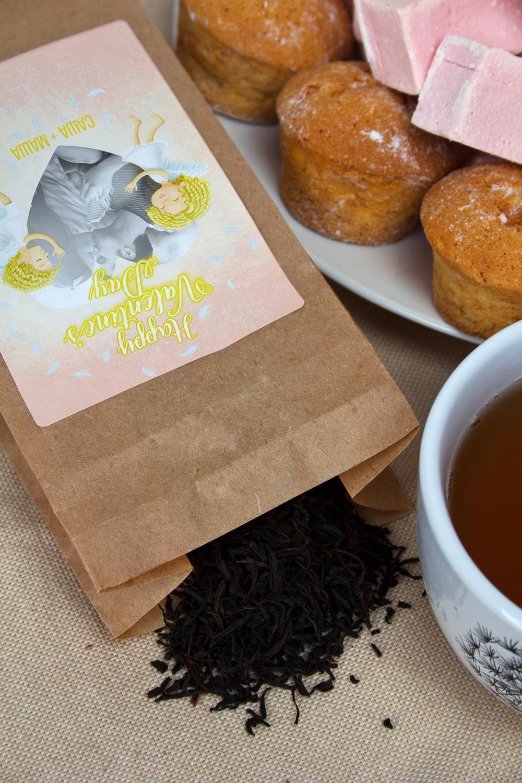 Обычно выглядит Чай с Вашим именем