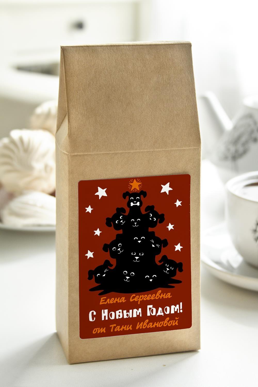 Чай с Вашим именем ПёсикиСувениры и упаковка<br>Чай чёрный, 100г. В персональной именной упаковке с Вашими пожеланиями<br>