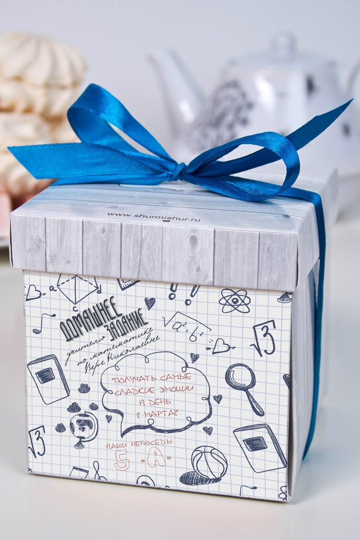 Печенье с предсказанием именное Домашнее заданиеПодарки на 8 марта<br>Порадуйте близкого вам человека необычным, а главное вкусным подарком. В каждом печенье можно найти индивидуальное предсказание. В упаковке - 5 шт. Размер коробки: 10х10х10см<br>
