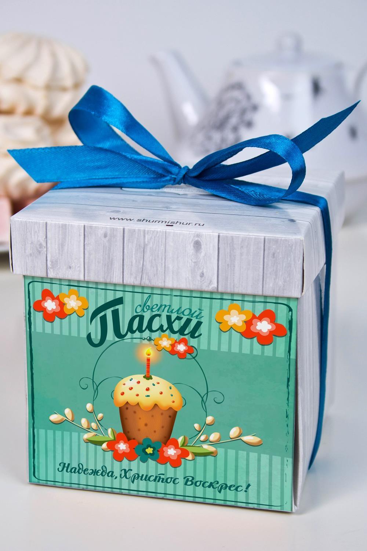 Печенье с предсказанием именное На ПасхуСувениры и упаковка<br>Порадуйте близкого вам человека необычным, а главное вкусным подарком. В каждом печенье можно найти индивидуальное предсказание. В упаковке - 5 шт. Размер коробки: 10х10х10см<br>