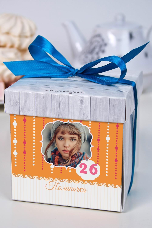 Печенье с предсказанием именное Поздравительная гирляндаСувениры и упаковка<br>Порадуйте близкого вам человека необычным, а главное вкусным подарком. В каждом печенье можно найти индивидуальное предсказание. В упаковке - 5 шт. Размер коробки: 10х10х10см<br>