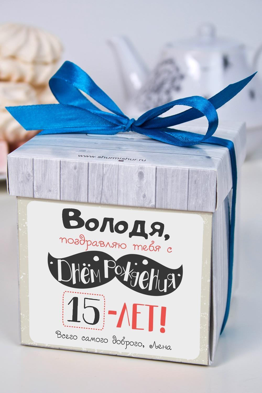 Печенье с предсказанием именное Стильный день рожденияСладости<br>Порадуйте близкого вам человека необычным, а главное вкусным подарком. В каждом печенье можно найти индивидуальное предсказание. В упаковке - 5 шт. Размер коробки: 10х10х10см<br>