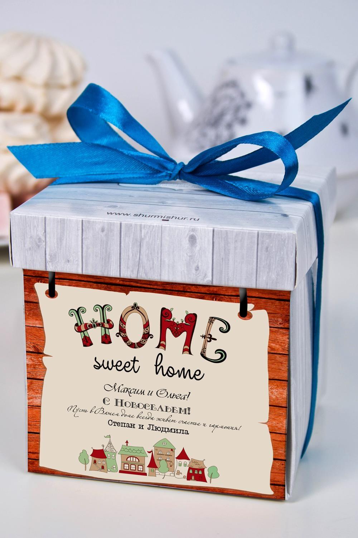 Печенье с предсказанием именное С новосельемСувениры и упаковка<br>Порадуйте близкого вам человека необычным, а главное вкусным подарком. В каждом печенье можно найти индивидуальное предсказание. В упаковке - 5 шт. Размер коробки: 10х10х10см<br>