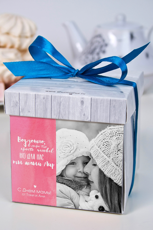 Печенье с предсказанием именное На День материСувениры и упаковка<br>Порадуйте близкого вам человека необычным, а главное вкусным подарком. В каждом печенье можно найти индивидуальное предсказание. В упаковке - 5 шт. Размер коробки: 10х10х10см<br>