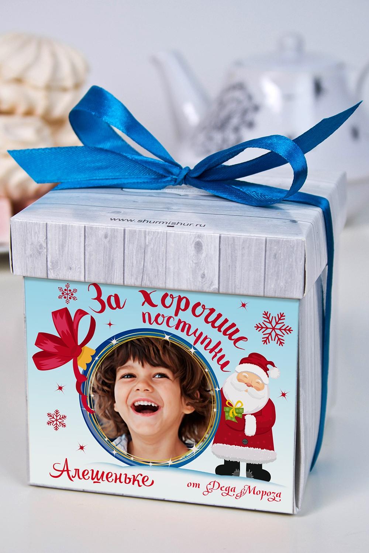 Печенье с предсказанием именное Поверь в сказкуНовогодние сладости<br>Порадуйте близкого вам человека необычным, а главное вкусным подарком. В каждом печенье можно найти индивидуальное предсказание. В упаковке - 5 шт. Размер коробки: 10х10х10см<br>