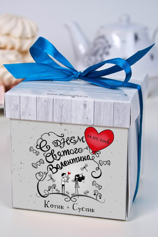 Печенье с предсказанием именное Любовь