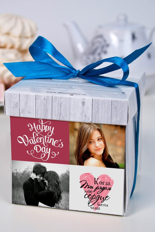 Печенье с предсказанием именное Романтичный фотоколлажСувениры и упаковка<br>Порадуйте близкого вам человека необычным, а главное вкусным подарком. В каждом печенье можно найти индивидуальное предсказание. В упаковке - 5 шт. Размер коробки: 10х10х10см<br>