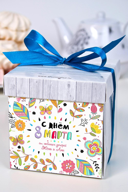 Печенье с предсказанием именное Любимой мамеСувениры и упаковка<br>Порадуйте близкого вам человека необычным, а главное вкусным подарком. В каждом печенье можно найти индивидуальное предсказание. В упаковке - 5 шт. Размер коробки: 10х10х10см<br>