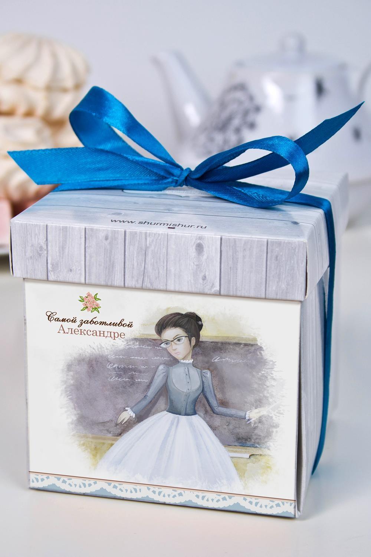 Печенье с предсказанием именное ЛедиСувениры и упаковка<br>Порадуйте близкого вам человека необычным, а главное вкусным подарком. В каждом печенье можно найти индивидуальное предсказание. В упаковке - 5 шт. Размер коробки: 10х10х10см<br>