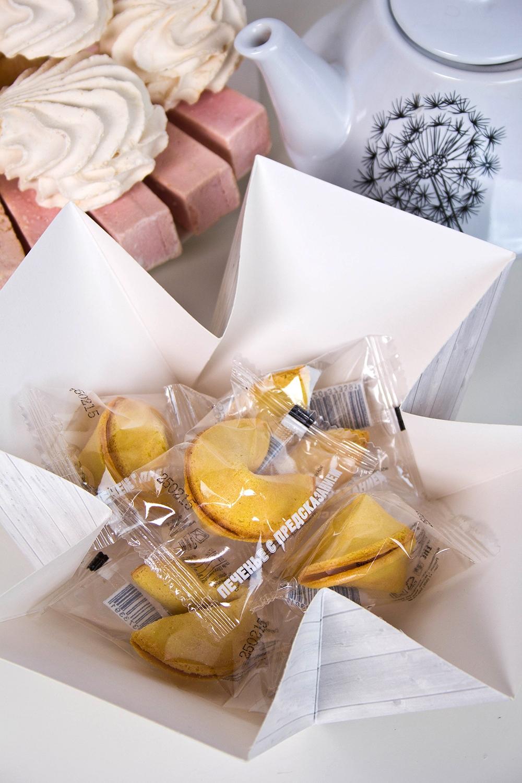 """Печенье с предсказанием именное """"Подарок учителю"""" от Красный куб"""