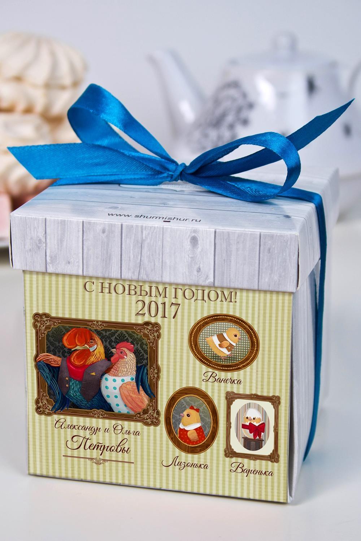 Печенье с предсказанием именное Наша семьяСувениры и упаковка<br>Порадуйте близкого вам человека необычным, а главное вкусным подарком. В каждом печенье можно найти индивидуальное предсказание. В упаковке - 5 шт.<br>