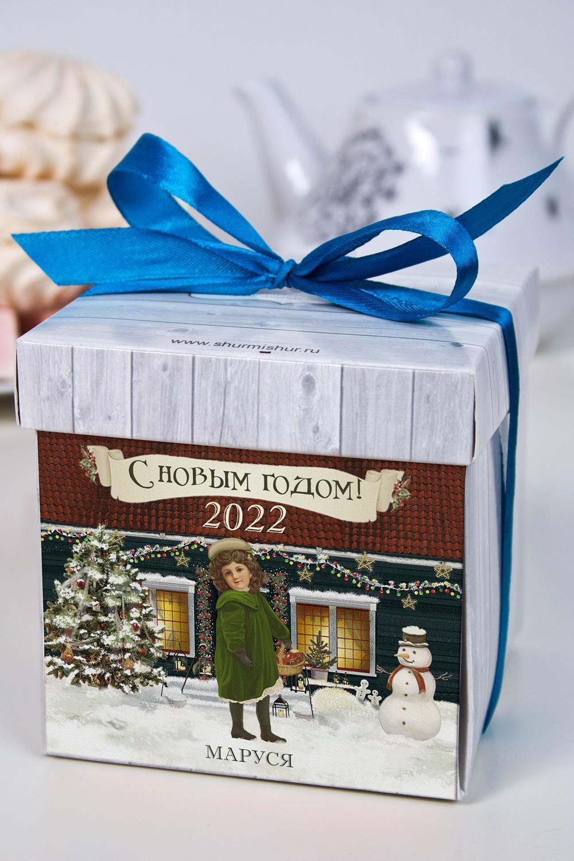 Печенье с предсказанием именное РождествоСувениры и упаковка<br>Порадуйте близкого вам человека необычным, а главное вкусным подарком. В каждом печенье можно найти индивидуальное предсказание. В упаковке - 5 шт. Размер коробки: 10х10х10см. Внимание! Коробка может отличаться от представленной на фото.<br>