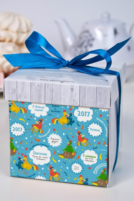 Печенье с предсказанием именное Подарок на год петухаСувениры и упаковка<br>Порадуйте близкого вам человека необычным, а главное вкусным подарком. В каждом печенье можно найти индивидуальное предсказание. В упаковке - 5 шт. Размер коробки: 10х10х10см<br>