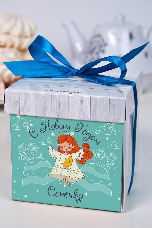 Печенье с предсказанием именное АнгелСувениры и упаковка<br>Порадуйте близкого вам человека необычным, а главное вкусным подарком. В каждом печенье можно найти индивидуальное предсказание. В упаковке - 5 шт. Размер коробки: 10х10х10см<br>
