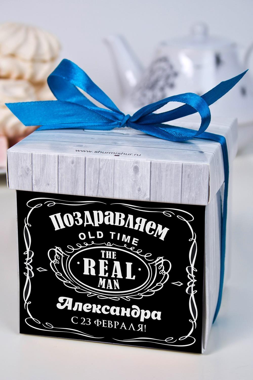 Печенье с предсказанием именное ДжекПодарки для мужчин<br>Порадуйте близкого вам человека необычным, а главное вкусным подарком. В каждом печенье можно найти индивидуальное предсказание. В упаковке - 5 шт. Размер коробки: 10х10х10см<br>