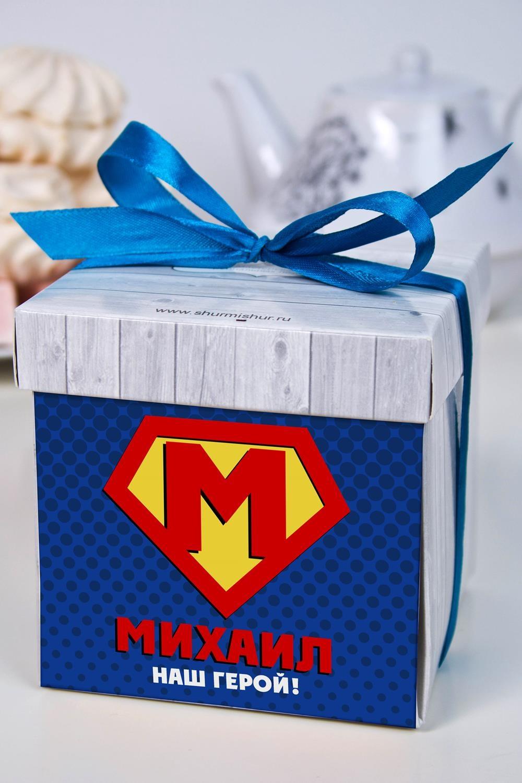 Печенье с предсказанием именное СуперменСувениры и упаковка<br>Порадуйте близкого вам человека необычным, а главное вкусным подарком. В каждом печенье можно найти индивидуальное предсказание. В упаковке - 5 шт. Размер коробки: 10х10х10см<br>