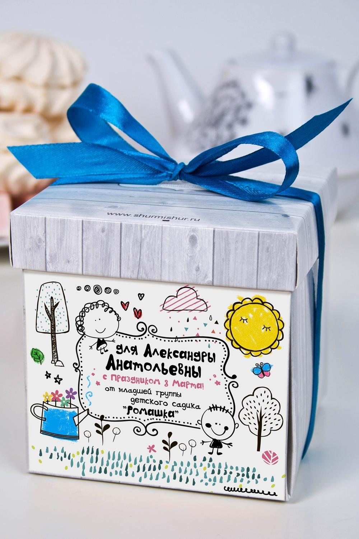 Печенье с предсказанием именное Детская коллекцияПодарки для женщин<br>Порадуйте близкого вам человека необычным, а главное вкусным подарком. В каждом печенье можно найти индивидуальное предсказание. В упаковке - 5 шт. Размер коробки: 10х10х10см<br>