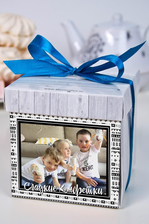 Печенье с предсказанием именное Сладкие конфеткиПодарки ко дню рождения<br>Порадуйте близкого вам человека необычным, а главное вкусным подарком. В каждом печенье можно найти индивидуальное предсказание. В упаковке - 5 шт. Размер коробки: 10х10х10см<br>