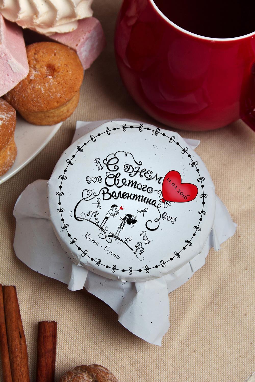 Варенье из киви с Вашим именем ЛюбовьПодарки для мужчин<br>Варенье из киви, 200г в персональной упаковке с Вашими пожеланиями<br>