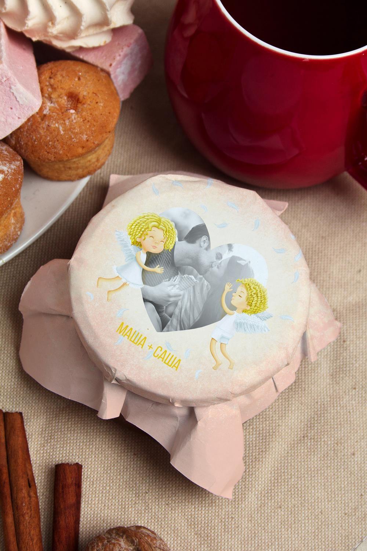 Варенье из киви с Вашим именем НежностьСувениры и упаковка<br>Варенье из киви, 200г в персональной упаковке с Вашими пожеланиями<br>