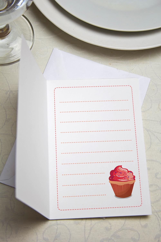 """Открытка с вашим текстом """"Happy Birthday"""" от Красный куб"""