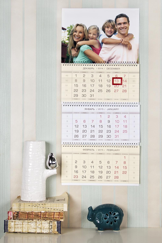 Календарь настенный с Вашим фото ФотоПодарки на день рождения<br>Календарь настенный с Вашим фото, 2016 год<br>