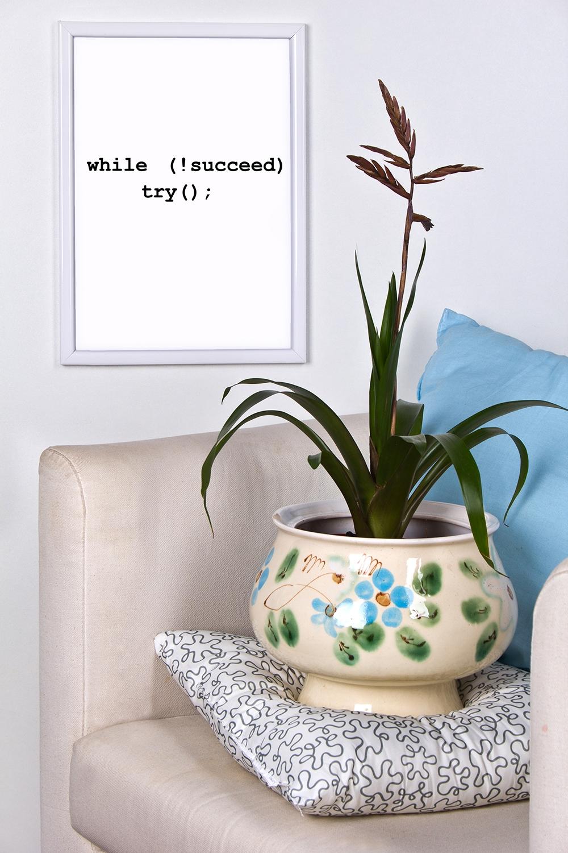 Постер в раме с Вашим текстом Путь к успехуУкрашения на стену<br>Постер в раме с Вашим текстом, размер 21*30см, пласт., белый<br>
