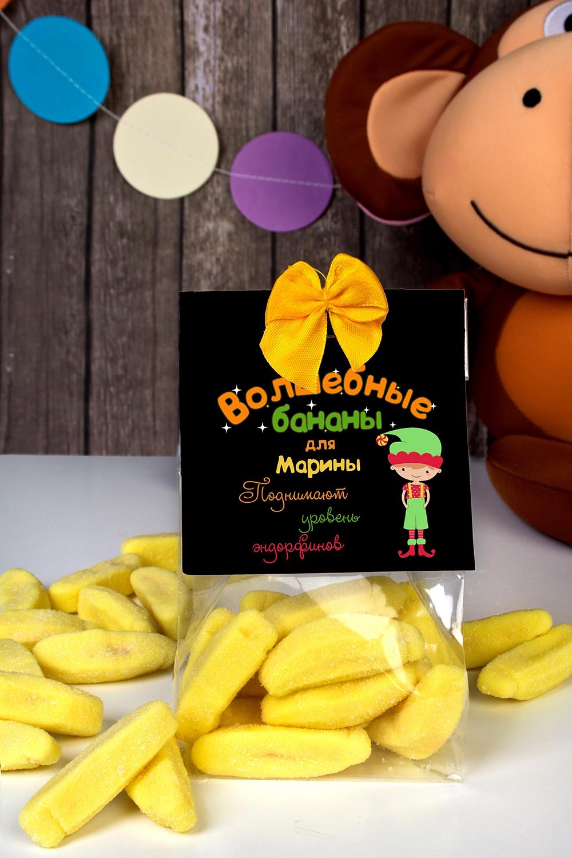 Мармелад с Вашим именем Волшебные бананыСувениры и упаковка<br>150г, с нанесением текста<br>