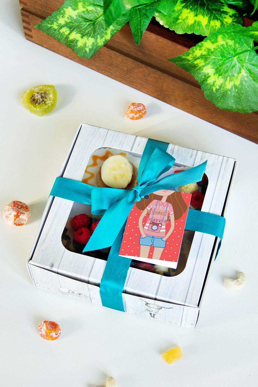 Набор мыла с Вашим текстом ПодругеШкатулки и наборы по уходу<br>Набор мыла подарочный, 4-предм., в подарочной упаковке, с именной биркой<br>