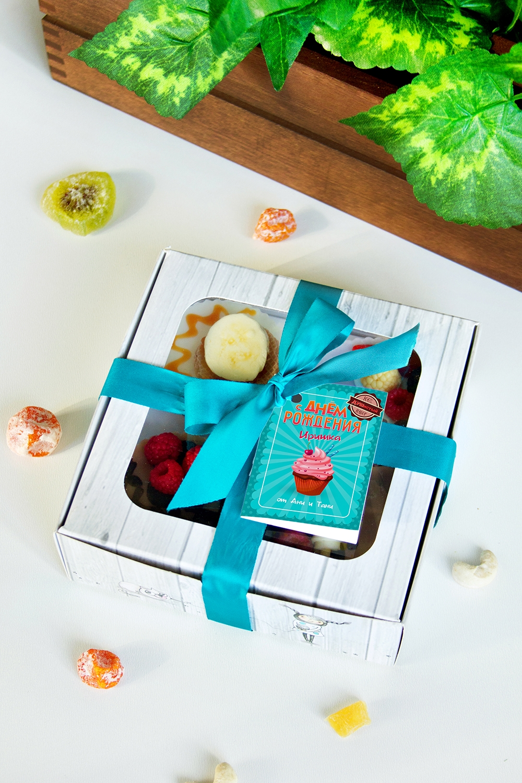 Набор мыла с Вашим текстом ДУШистый наборПодарки ко дню рождения<br>Набор мыла подарочный, 4-предм., в подарочной упаковке, с именной биркой<br>