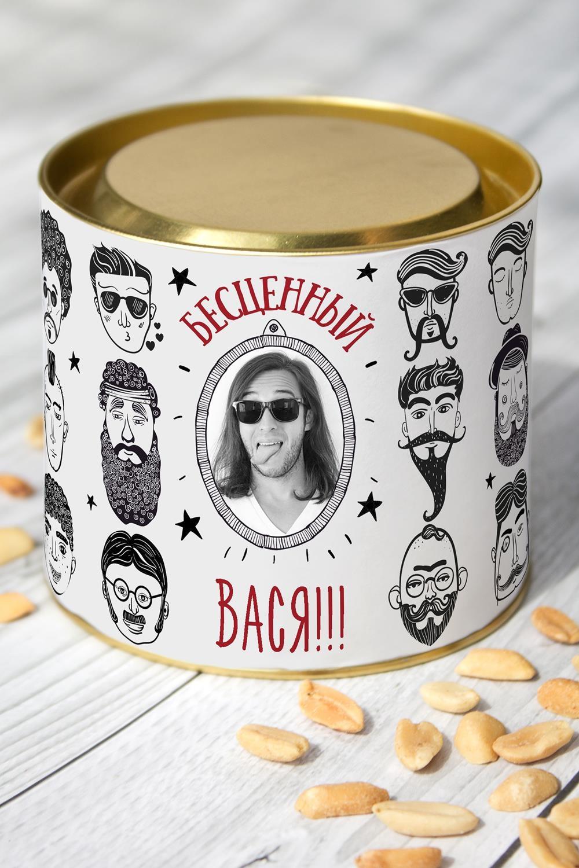 Арахис именной Мужчина-подарокПодарки для мужчин<br>Арахис жареный соленый, 150гр. в красивой упаковке с Вашим именем<br>
