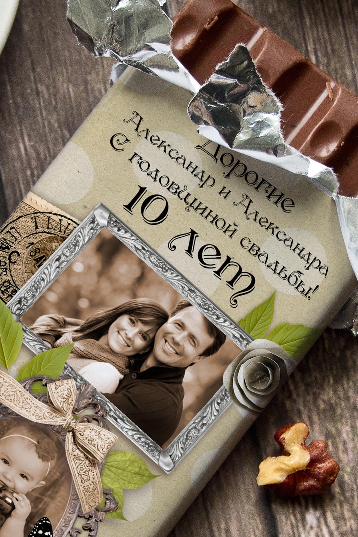 подиуме шоколад с вашей фотографией красота