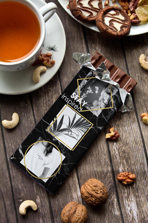 Шоколад с Вашим именем InspirationСувениры и упаковка<br>Молочный шоколад в персональной именной упаковке будет приятным сувениром для сладкоежки! Масса - 90г.<br>