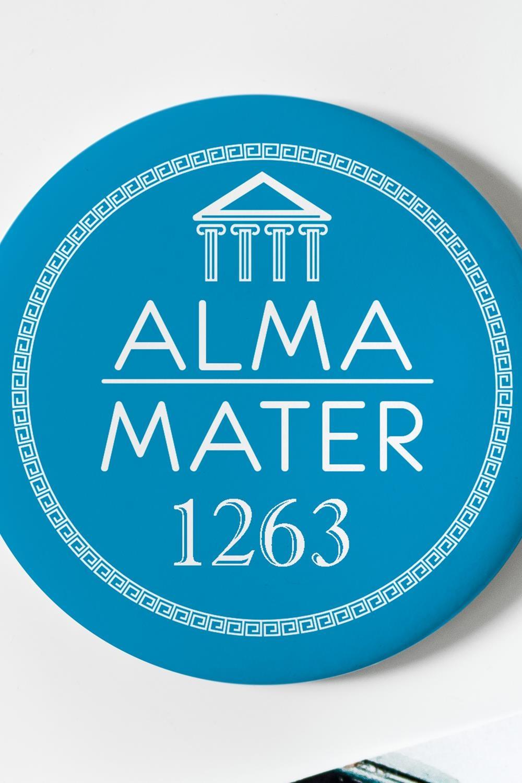 """Магнит с Вашим текстом """"My Alma mater"""" от Красный куб"""