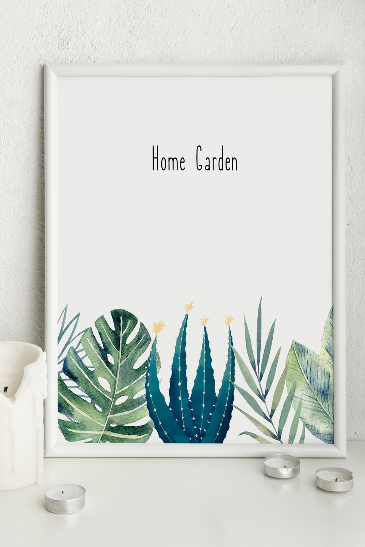 Постер в раме Home garden постер в раме абстракция 60х60 см