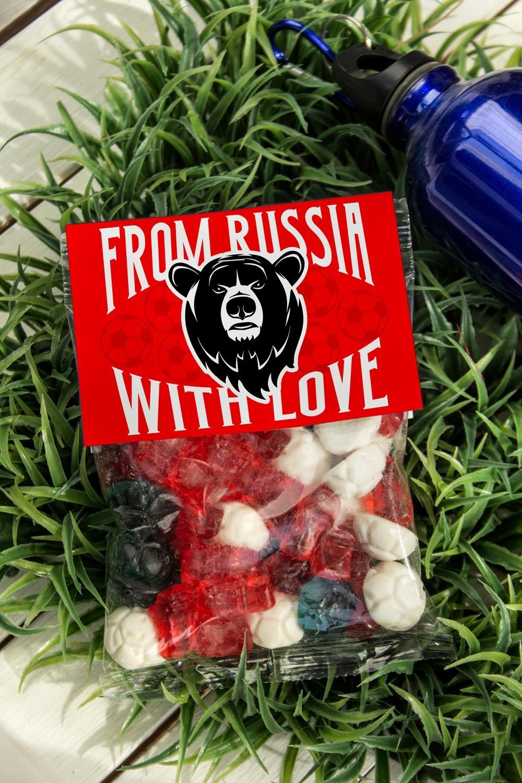 Мармелад I'm from Russia love is жуймиксик мармелад жевательный со вкусом вишня лимон 24 шт по 25 г