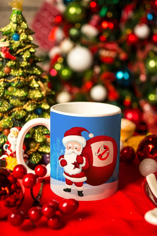 Кружка с вашим текстом Дед МорозКружки и бокалы<br>Размер: 310мл, Выс=9.5см. Материал: керамика<br>