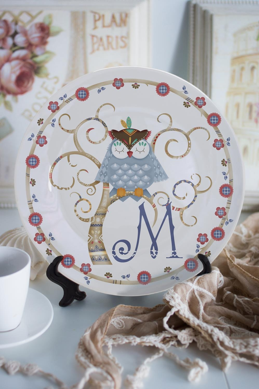 Тарелка декоративная с вашим текстом Волшебный сонПосуда<br>Тарелка диаметром 20см с Вашим текстом<br>